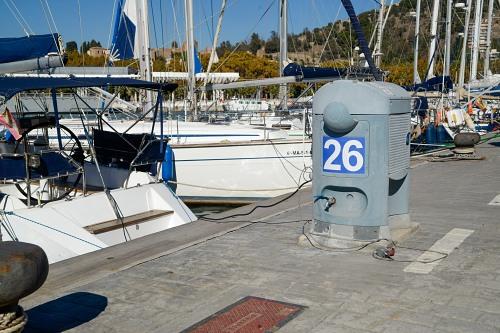 Pier numbering in port
