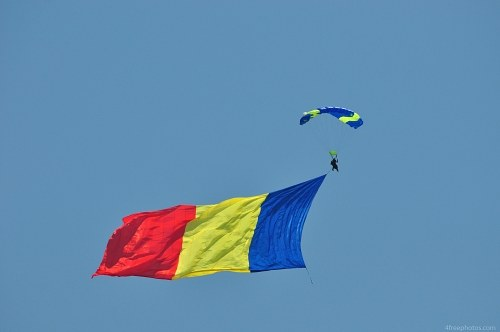 Skydiver flag