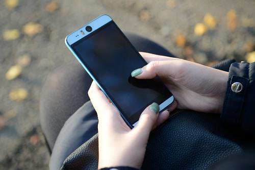 Smartphone swipe