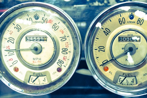 Speed meters antique