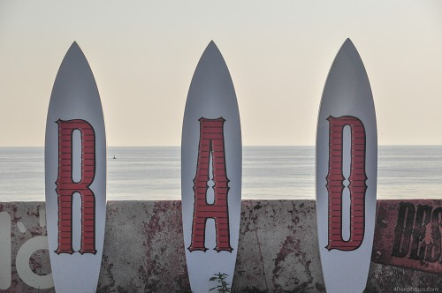 Surf boards sign