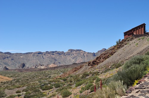 Teide cable car station