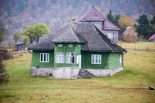 Traditional house in the mountains