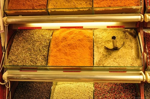 Turkish bazaar spices