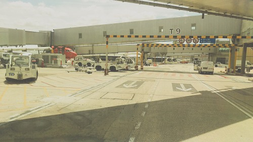 Vehicles on airport