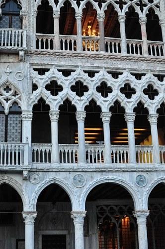 Venetian palace facade
