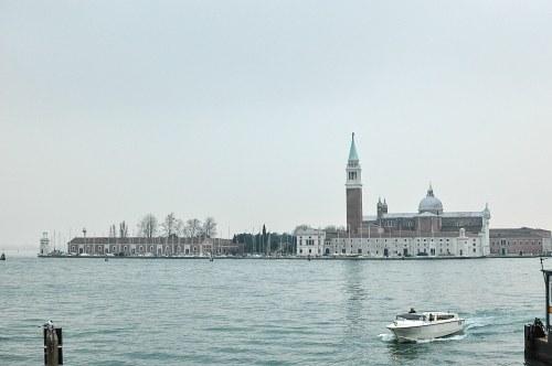 Venice lagoon buildings