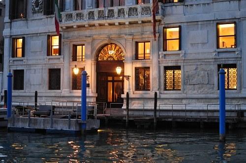 Venice palace entrance