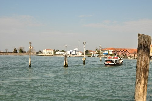 Water bus in Murano