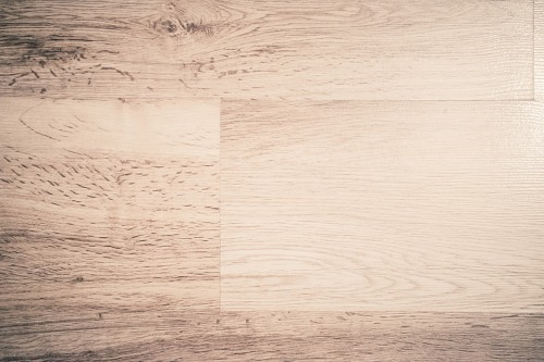 White wooden floor tile