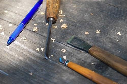Wood sculpting tools