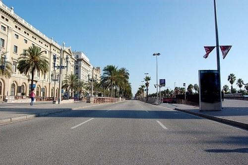 Free photos: Empty street in Barcelona