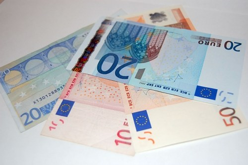 Free photos: Fan of euro banknotes