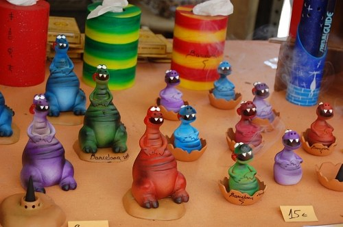 Multicolor toy dinosaurs