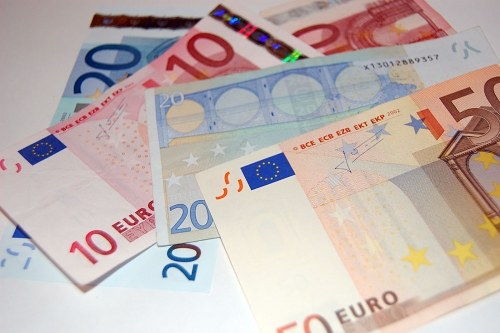 Free photos: Multiple value EURO banknotes