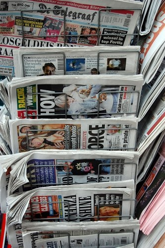 Free photos: Newspaper stand