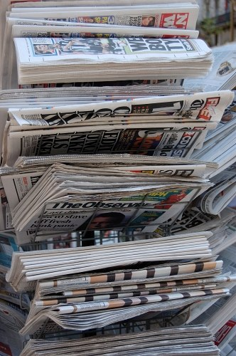 Newspapers in support