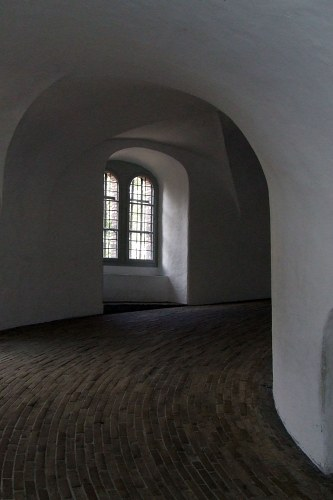 Round tower inside