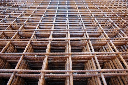 Free photos: Square stell wire structures