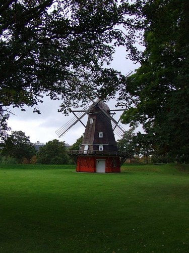 Windmill in park