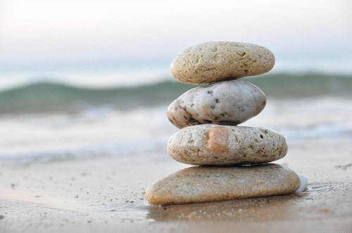 Balanced wellness pebbles