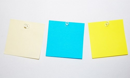 Free photos: Blank post-it notes