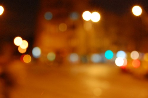 Free photos: Blurry City Lights