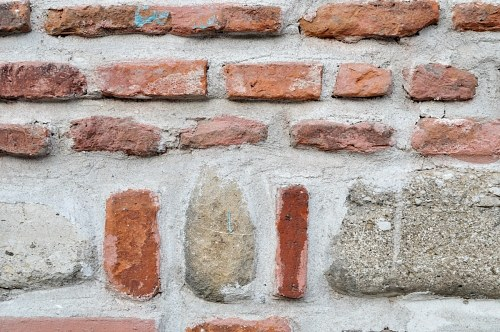 Free photos: Brick and concrete wall