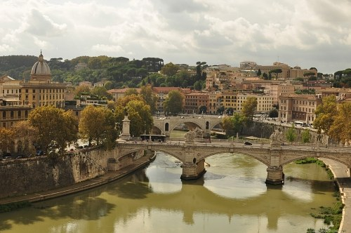 Bridge over Tiber