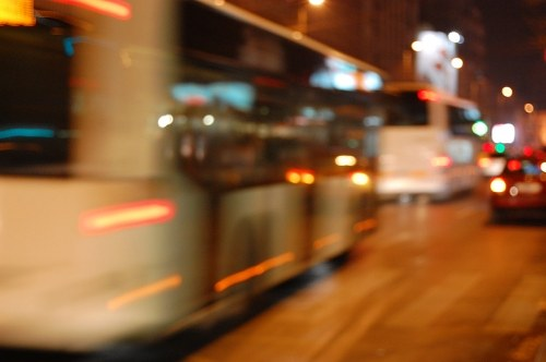 Free photos: Bus in città, strada
