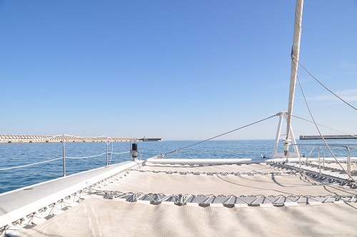 Free photos: Catamaran deck