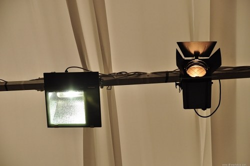 Free photos: Ceiling light projectors