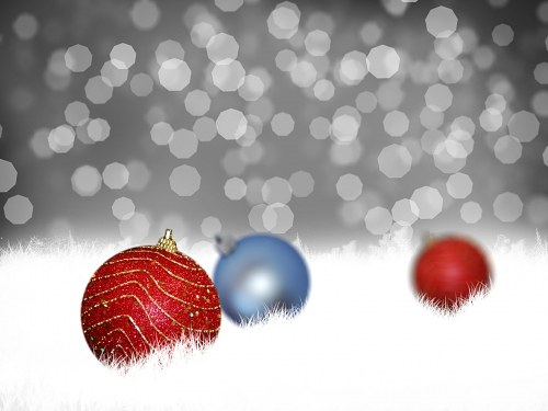 Free photos: Christmas bokeh