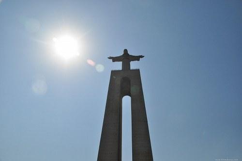 Christo rei sun