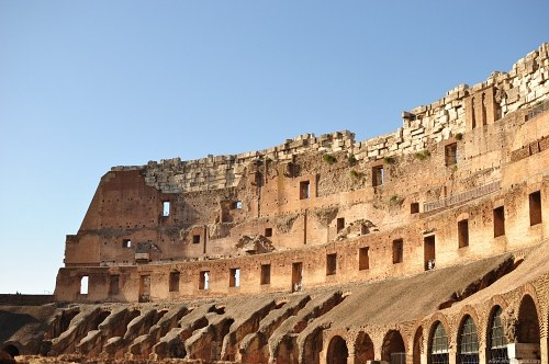 Parede interior de Colosseum