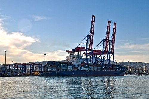 Free photos: Container terminal