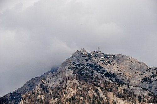 Free photos: Cross on mountain