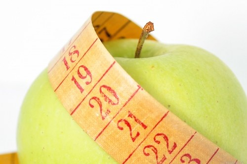 Diet weight loss green apple