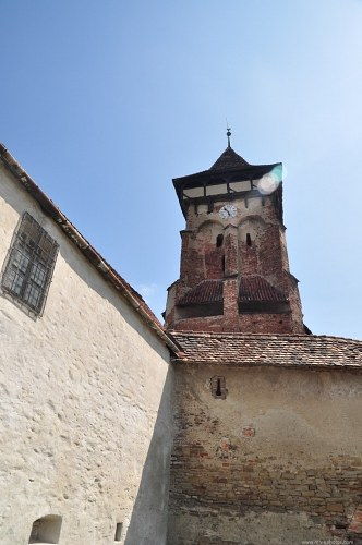Fortified clock tower