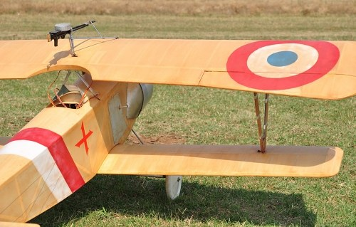French WW1 Biplane