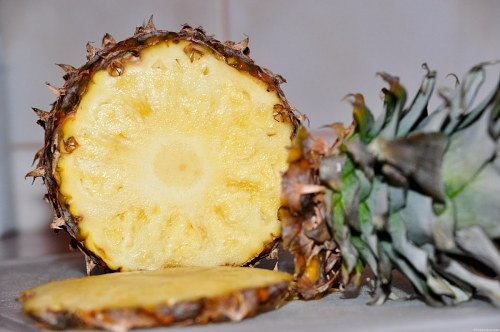 Free photos: Fresh pineapple