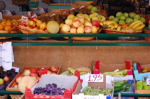 Free photos: Fruit market stands