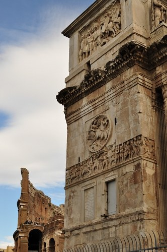 Gate of Constantin in Rome