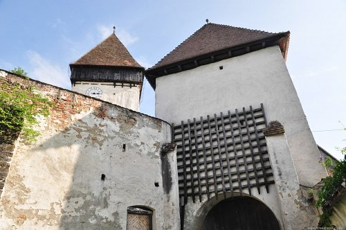 Gate of a castle