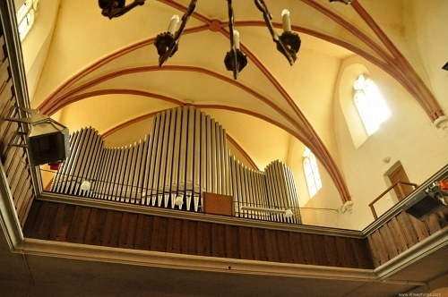 Gothic cathedral organ