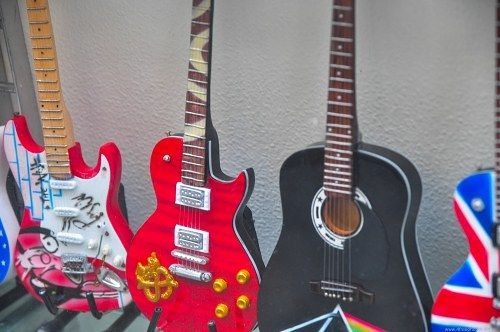 Guitar musical instruments