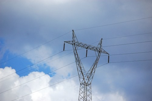 Free photos: High tension lines