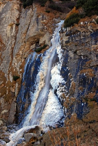 Free photos: Icy cascata