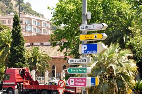 Free photos: Indicator signs in Malaga