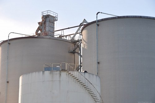 Free photos: Industrial storage tanks